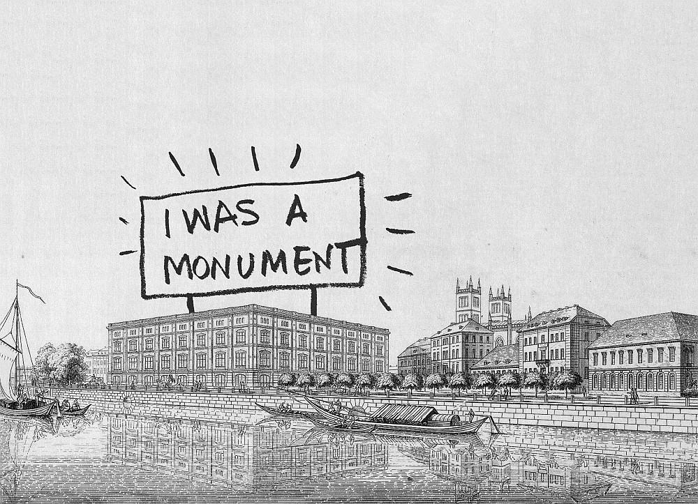 I was a monument - Schinkel Bauakademie